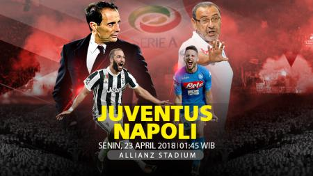 Prediksi Juventus vs Napoli. - INDOSPORT