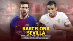 Indosport - Prediksi Barcelona vs Sevilla.