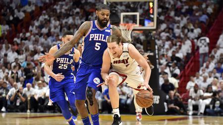 Philadelphia 76ers vs Miami Heat - INDOSPORT