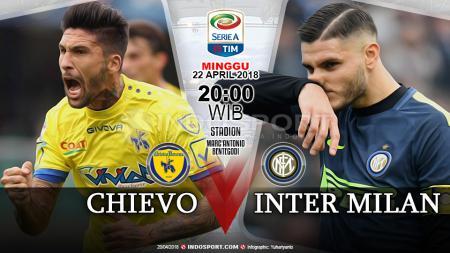 Prediksi Chievo vs Inter Milan - INDOSPORT