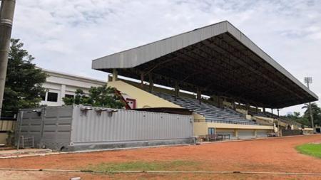 Stadion PTIK akan digunakan Persija Jakarta untuk menghadapi Persib Bandung dan Persebaya Surabaya. - INDOSPORT