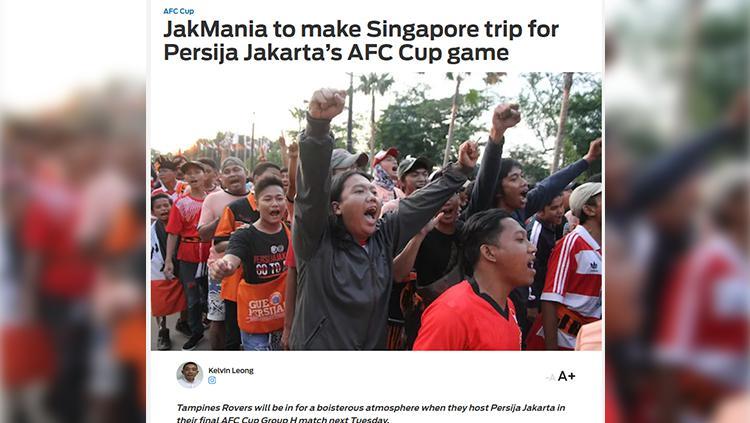 Jakmania. Copyright: Fox Sport Asia