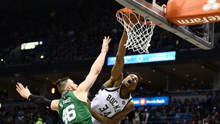 Boston Celtics vs Milwaukee Bucks. - INDOSPORT