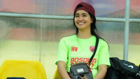 Sekretaris PSM Makassar, Andi Widya Syadzwina. - INDOSPORT
