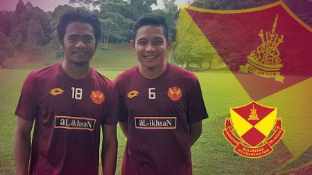 Evan Dimas dan Ilhamudin saat mengikuti latihan di Selangor FA. - INDOSPORT