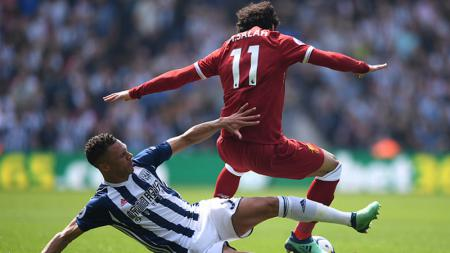 West Bromwich vs Liverpool. - INDOSPORT