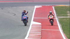 Indosport - Marco Vinales (kiri) dan Marc Marquez (kanan)