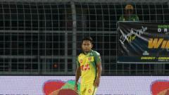 Indosport - Pemain Kedah FA Andik Vermansah.
