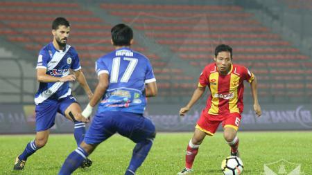 Pemain Selangor FA Evan Dimas. - INDOSPORT