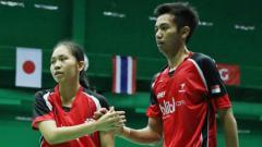 Indosport - Andika Ramadiansyah/Mychelle Crhystine Bandoso.