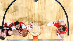 Indosport - Portland Trail Blazers vs New Orleans Pelicans.