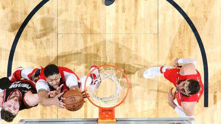 Portland Trail Blazers vs New Orleans Pelicans. - INDOSPORT