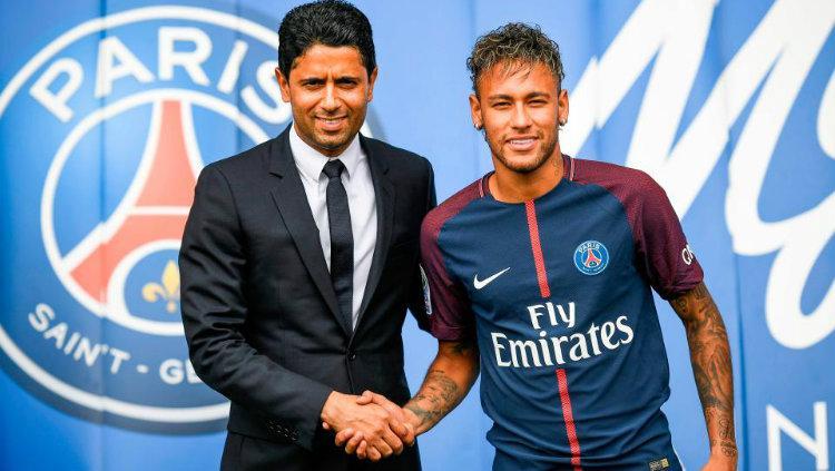 Neymar dan Nasser Copyright: The Sun