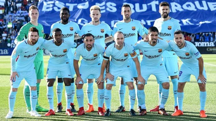 Skuat Barcelona Copyright: INDOSPORT