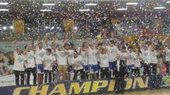 Indosport - Satria Muda juara IBL 2018.