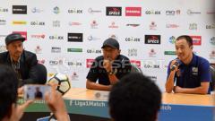 Indosport - Konfrensi Pers usai laga
