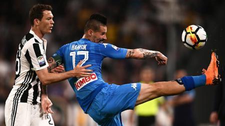 Juventus vs Napoli - INDOSPORT