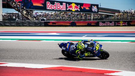 Valentino Rossi di MotoGP Amerika Serikat 2018. - INDOSPORT