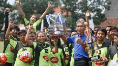 Indosport - Putri Mataram keluar sebagai juara Kartini Cup 2018.