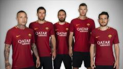 Indosport - Sponsor baru AS Roma