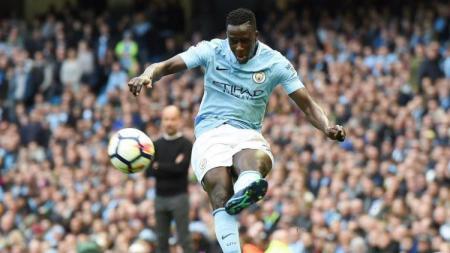 Bek kiri Manchester City, Benjamin Mendy. - INDOSPORT