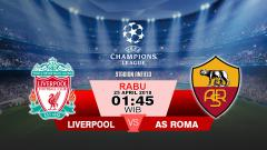 Indosport - Liverpool vs AS Roma