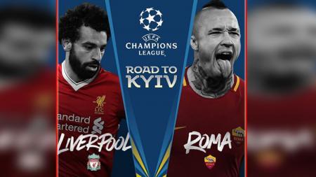 Liverpool vs AS Roma. - INDOSPORT