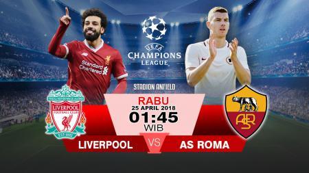 Prediksi Liverpool vs AS Roma - INDOSPORT