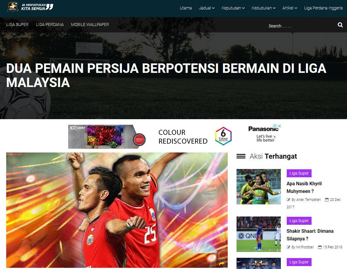 Riko Simanjuntak dan Rezaldi Hehanusa Copyright: http://inikanbola.my