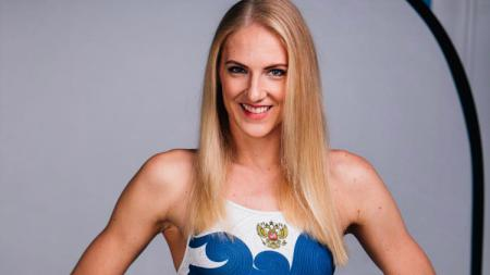 Svetlana Romashina, duta Piala Dunia 2018 untuk Kota Moskow. - INDOSPORT