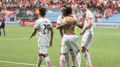 Indosport - Tampines Rovers vs Persija Jakarta.