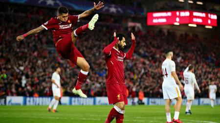 Mohamed Salah dan Roberto Firmino - INDOSPORT