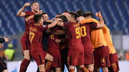 AS Roma vs Barcelona - INDOSPORT