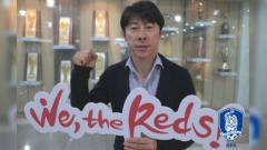 Indosport - Slogan Timnas Korea Selatan di Piala Dunia 2018.