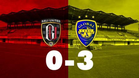 Bali United vs Global Cebu. - INDOSPORT