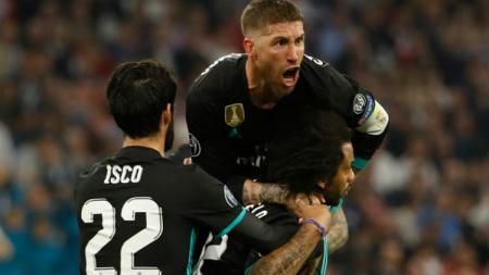 Bayern Munchen vs Real Madrid. - INDOSPORT