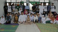 Indosport - PSMS Medan kunjungi Panti Asuhan