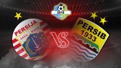 Indosport - Persija Jakarta vs Persib Bandung