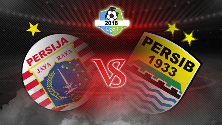Persija Jakarta vs Persib Bandung Copyright: Grafis:Yanto/Indosport.com