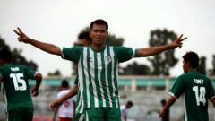 Indosport - Saktiawan Sinaga, pemain Persib B