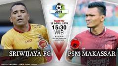 Indosport - Prediksi Sriwijaya FC vs PSM Makassar