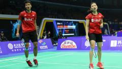 Indosport - Ricky Karanda Suwardi/Debby Susanto melaju ke perempatfinal BAC 2018.