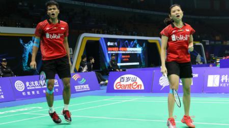 Ricky Karanda Suwardi/Debby Susanto melaju ke perempatfinal BAC 2018. - INDOSPORT