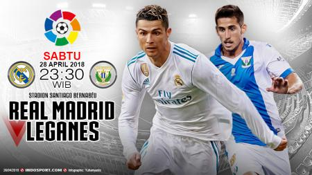 Prediksi Real Madrid vs Leganes - INDOSPORT