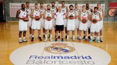Indosport - Tim basket Real Madrid.
