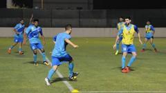 Indosport - Situasi latihan Timnas Bahrain U-23.