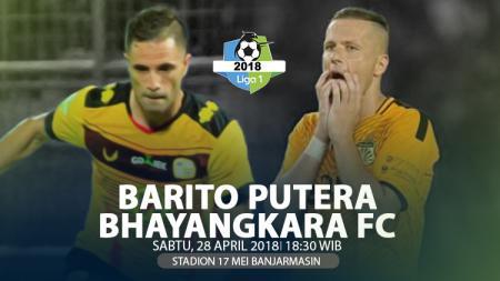 Prediksi Barito Putera vs Bhayangkara FC. - INDOSPORT