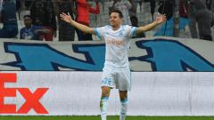 Indosport - Marseille vs RB Salzburg.