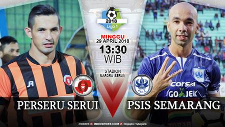 Prediksi Perseru Serui vs PSIS Semarang - INDOSPORT