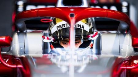 Pembalap Formula 2 asal Indonesia, Sean Gelael. - INDOSPORT